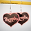 Thumbnail: Thembo Frosted Blush Heart Earring Set