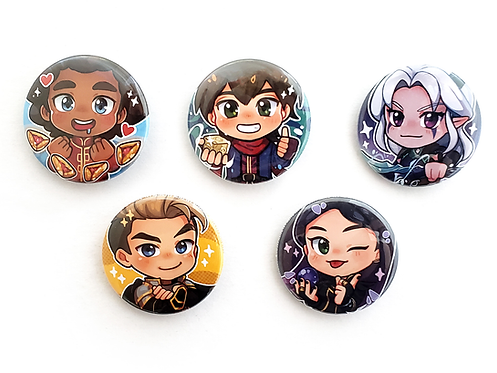 Baby Dragon Crew Buttons