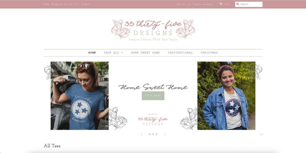 3535 Designs Home Page