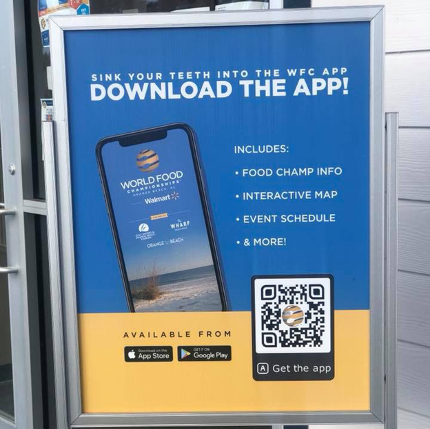 WFC App Ad