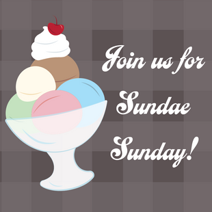 Sundae Sunday Social Media Graphic