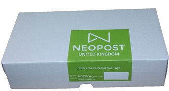 DMS for Quadient/Neopost IJ30/50/65/80/90/110 Labels - Box 1000 Single Strips