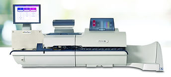 Pitney Bowes Connect + 1000 SendPro P1000 Colour printing franking machine