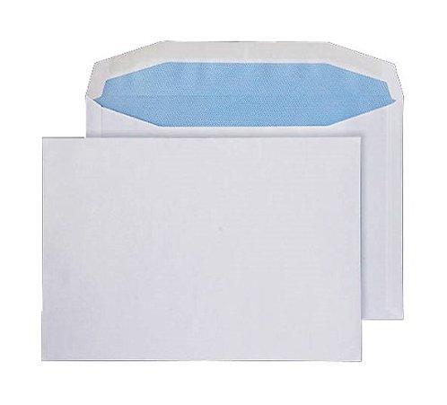 Envelopes C5+ Gummed Plain White 90gsm - Pack 500