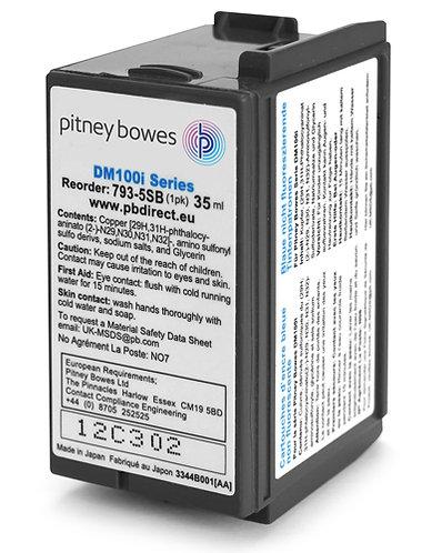 Pitney Bowes - DM100/DM110/DM160/DM200/DM220/PR20 Ink Cartridge Compatible Blue