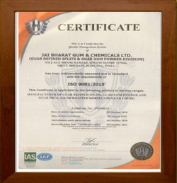 ISO certificates proving our authenticity
