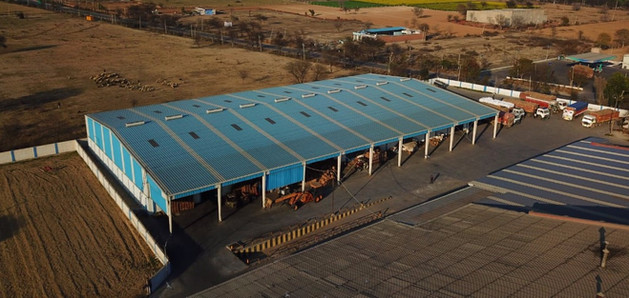 World Class warehousing facilities for Guar Gum and Guar Meal