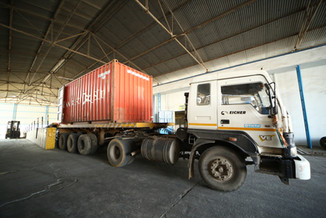 In-House container Loading of Guar Gum Powder and Guar Meal