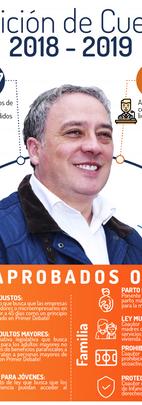 Carlos Acosta Rendición de Cuentas 2018 - 2019
