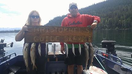 Donner Lake fishing guide kokanee and Mackinaw