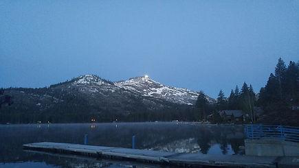 Snow Donner Lake fishing guide