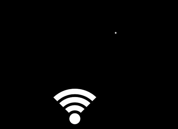 WEBB-IT Silver Hotspot Wireless 651