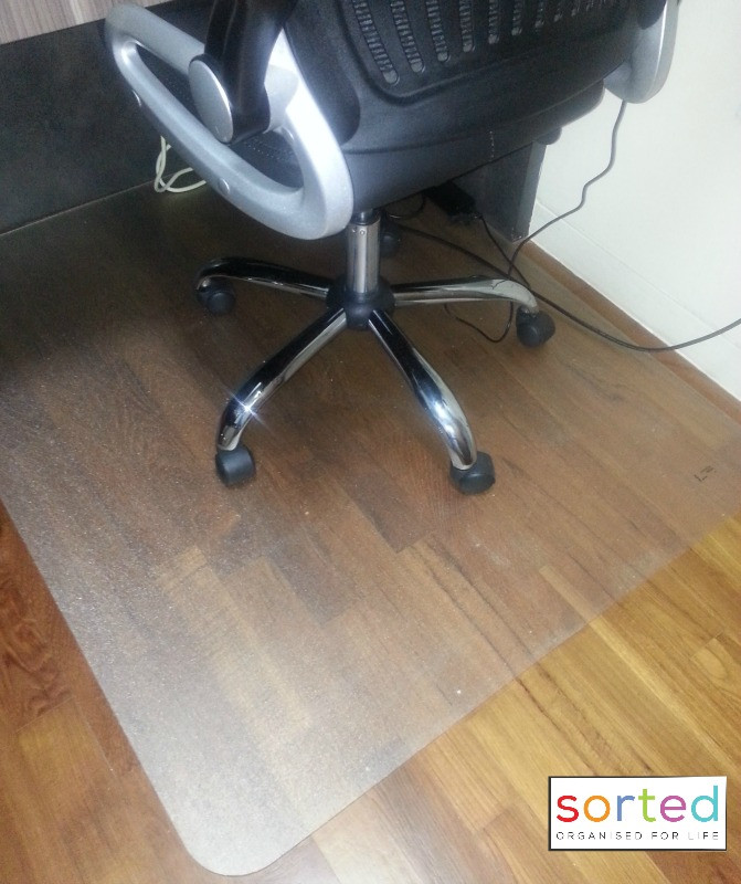 Floor protector for office