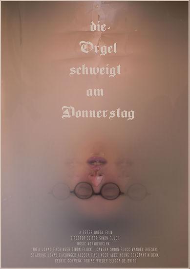 Die Orgel schweigt am Donnerstag_Poster_Simon Fluck
