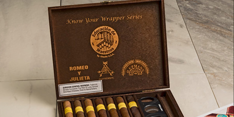 Know Your Wrapper Tasting Event