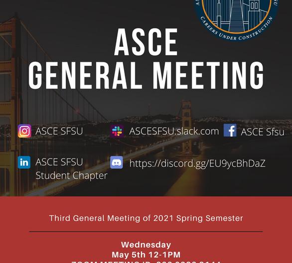 Spring 2021 Third General Meeting