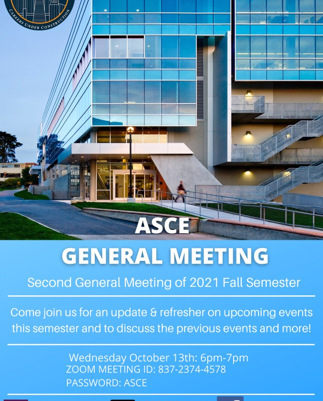 Fall 2021 Second General Meeting