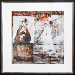 dolce_7 2018 Acryl auf Papier 50 x 50 cm