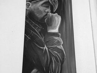 2 Pac Shakur Painting