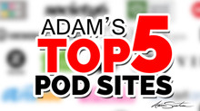 My Top 5 POD Sites