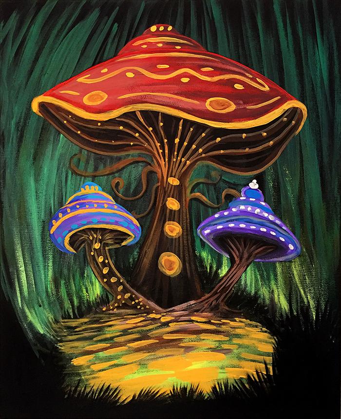 A Mushroom World