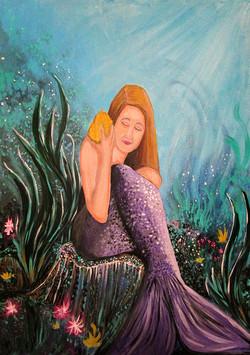 Mermaid Under The Sea
