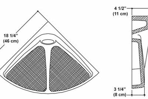 Oval Corner Seat