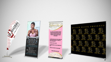 BANNERS/ SIGNAGE