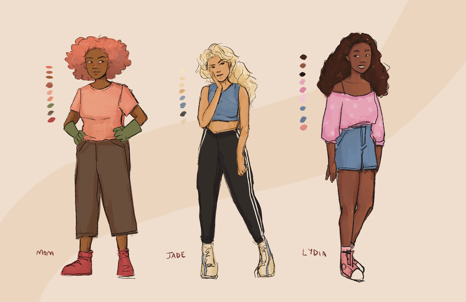 Side Character Designs