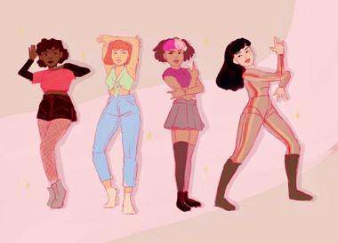 Posing Girls