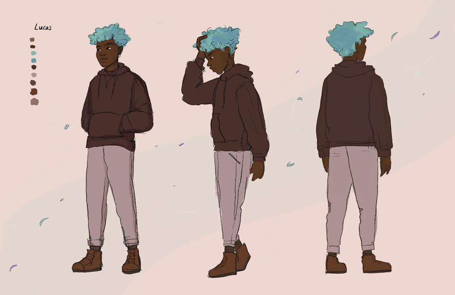 Lucas Character Turnaround