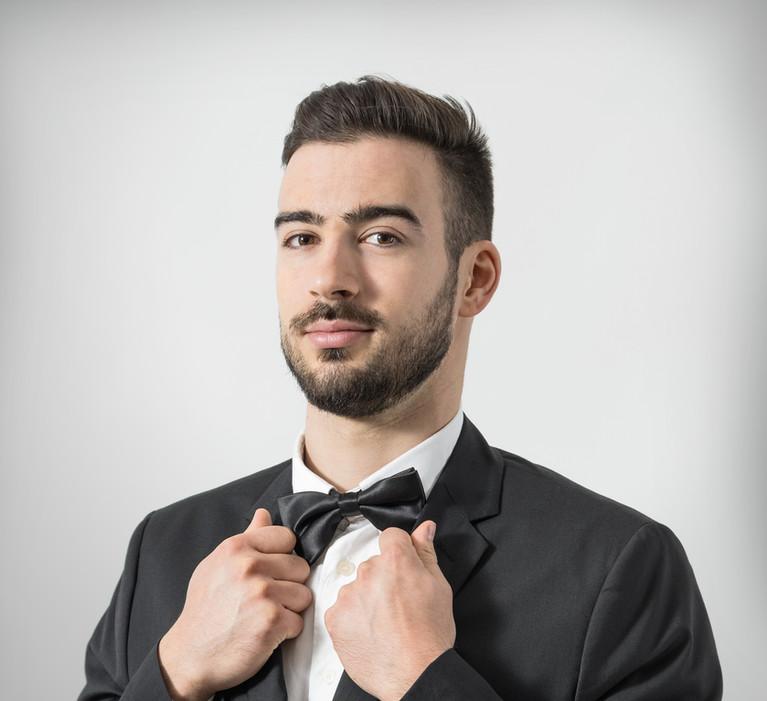 Hochzeit Musiker Schwarz Bowtie