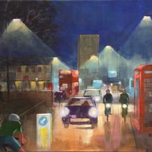 Inner City Circular. oil on canvas. 40x50cm £300