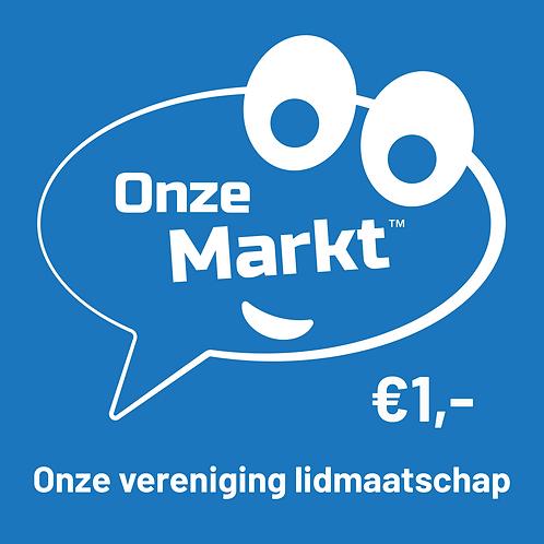Wordt lid van Onze Markt