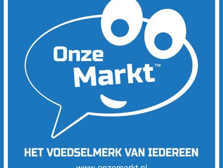Onze Markt, het voedselmerk van iedereen