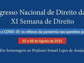 IV Congresso Nacional de Direito da URCA - 02 a 06 de Agosto de 2021
