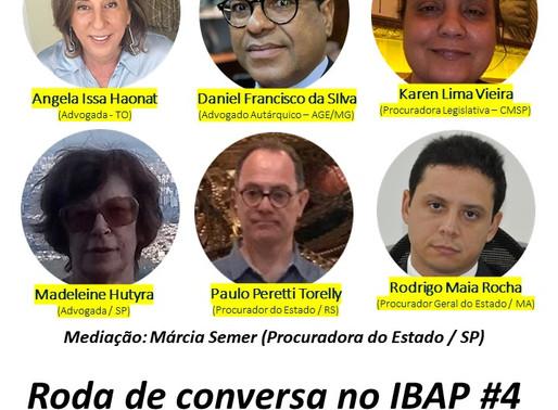 RODA DE CONVERSA NO IBAP #4: Desestatização e Legitimidade do Voto