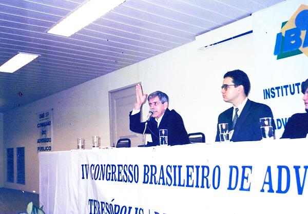 Teresópolis, Junho de 2000 - Belisário Santos Junior e Sérgio Ferrari
