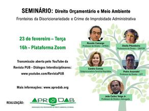 23/02 - SEMINÁRIO: Direito Orçamentário e Meio Ambiente