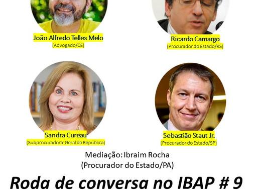 RODA DE CONVERSA NO IBAP #9: A atual composição do CONAMA e a passagem da boiada