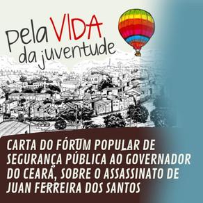 AO GOVERNADOR DO ESTADO DO CEARÁ, O SENHOR CAMILO SANTANA