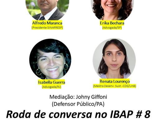 RODA DE CONVERSA NO IBAP #8: Terceiro Setor e Democracia Participativa