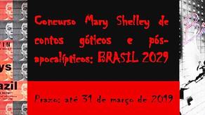 Participe do Concurso de Contos Góticos e Pós-Apocalípticos Mary Shelley - Prazo: 31 de março