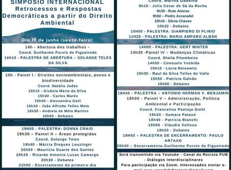Simpósio Internacional- Retrocessos e Respostas Democráticas a partir do Direito Ambiental