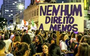 """Dia Internacional da Mulher: """"nenhum direito a menos"""""""