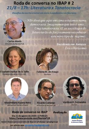 RODA DE CONVERSA NO IBAP #2: Literatura x Tanatocracia