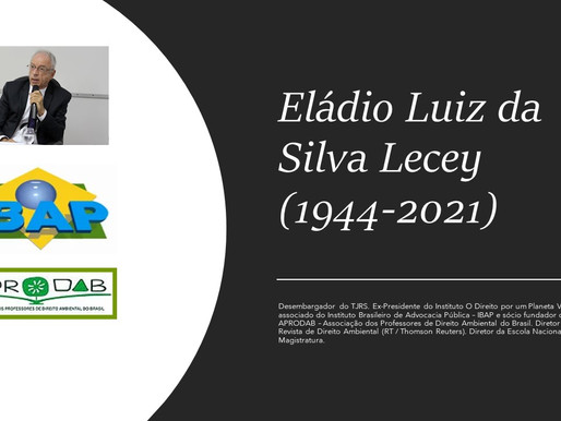 Em memória de Eládio Lecey