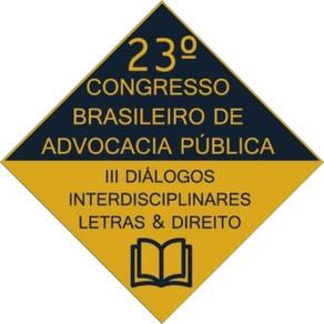 Abertas inscrições para 23º Congresso brasileiro de advocacia pública