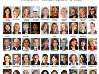 """Jayne Pilot, Selected as One of the 50 Eligible """"Board of Director"""" Candidates by Canadian"""