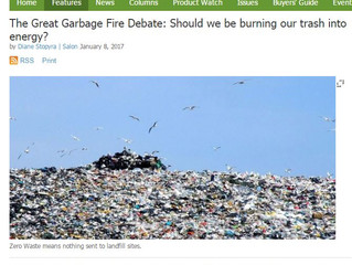 The Great Garbage Fire Debate